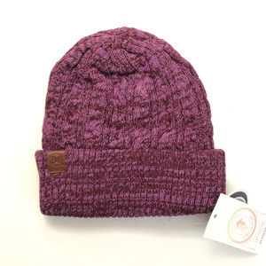 BUFF Braidy Hat Beanie Knitted Reversible Unisex